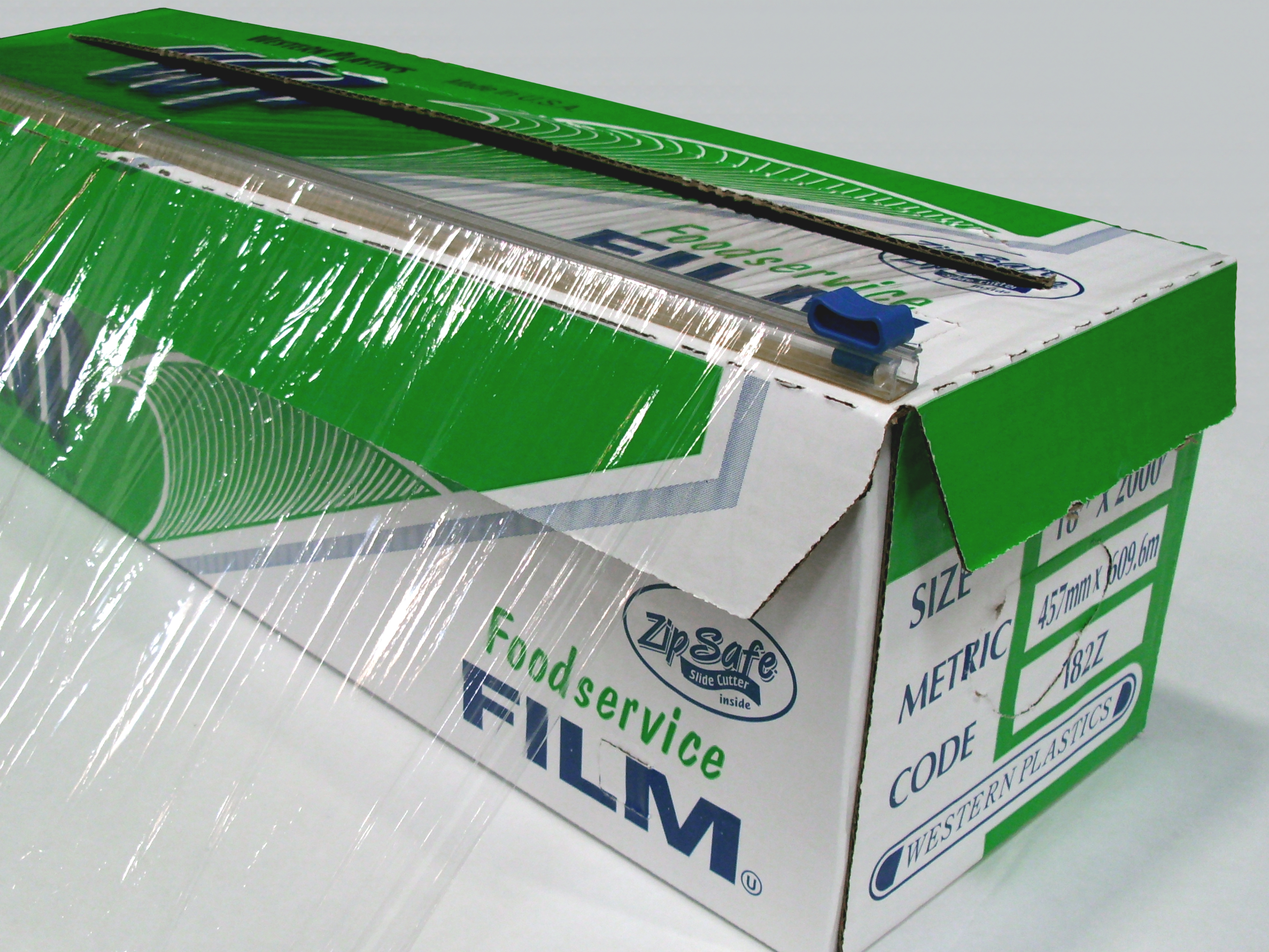 PVC Food Film with Slide Cutter